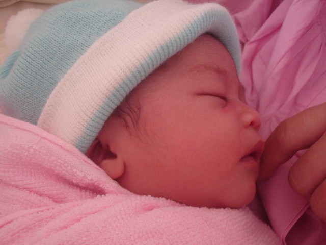 My daughter, Syahzanani Izzati
