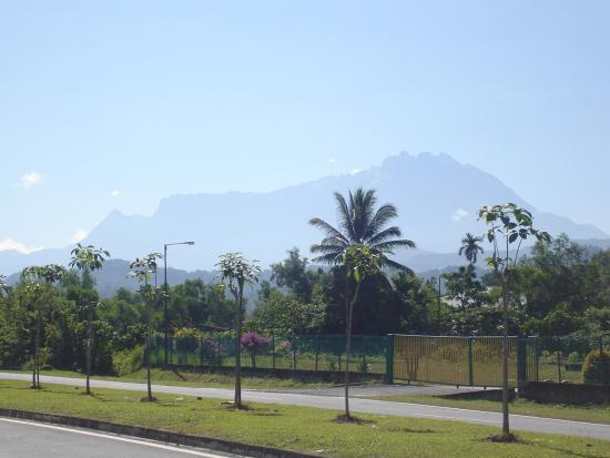 Kinabalu from Tamparuli Town